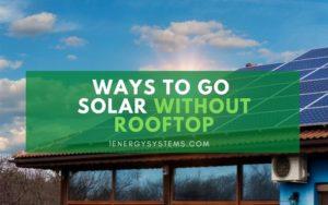 Solar for Rentals